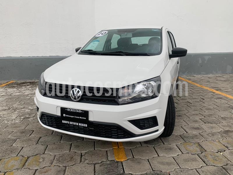 Volkswagen Gol Trendline usado (2020) color Blanco Candy precio $197,000