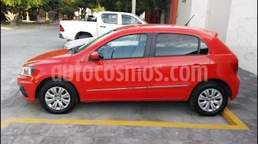 Volkswagen Gol Trendline usado (2017) color Rojo Flash precio $125,000