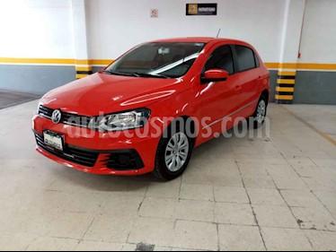 Volkswagen Gol 5p Trendline I-Motion L4/1.6 Aut usado (2018) color Rojo precio $175,000