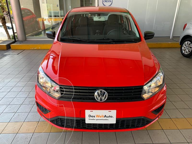 Volkswagen Gol Trendline Ac usado (2020) color Rojo precio $194,900