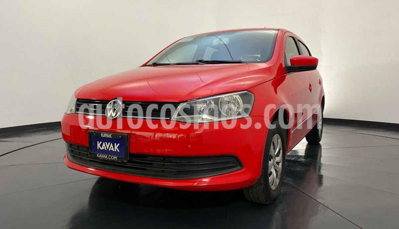 Volkswagen Gol GL usado (2015) color Rojo precio $127,999