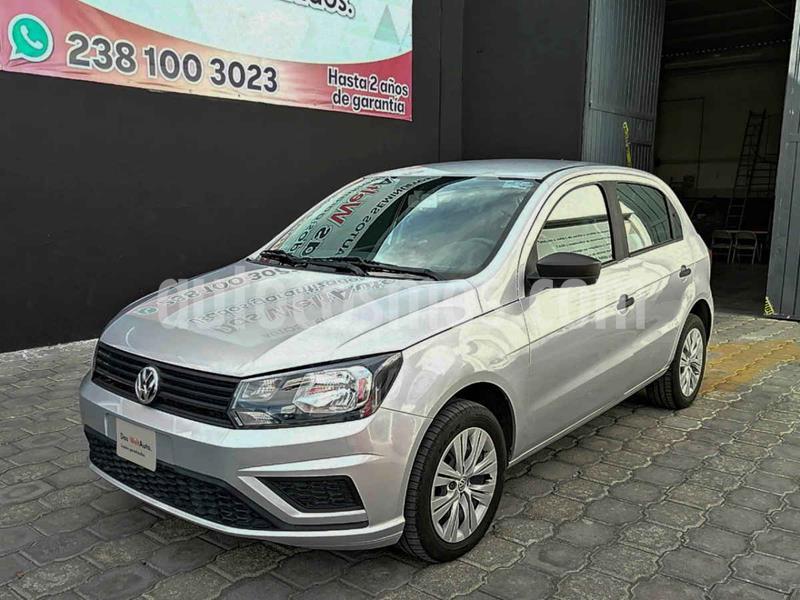 Volkswagen Gol Trendline usado (2019) color Plata precio $177,627