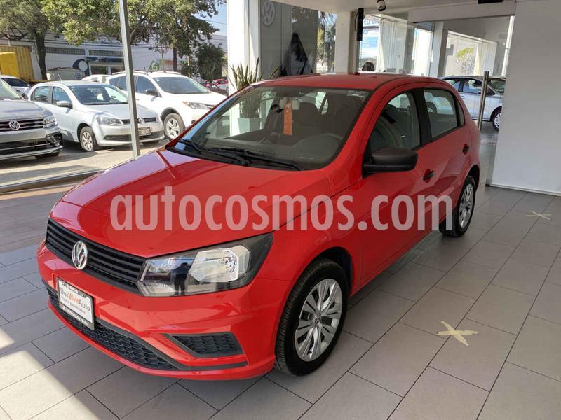Volkswagen Gol Trendline usado (2019) color Rojo precio $180,000