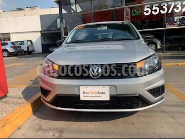 Volkswagen Gol 5p Trendline L4/1.6 Man usado (2019) color Plata precio $189,932
