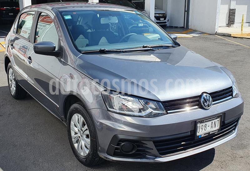 Volkswagen Gol Comfortline usado (2017) color Gris Platino precio $145,000