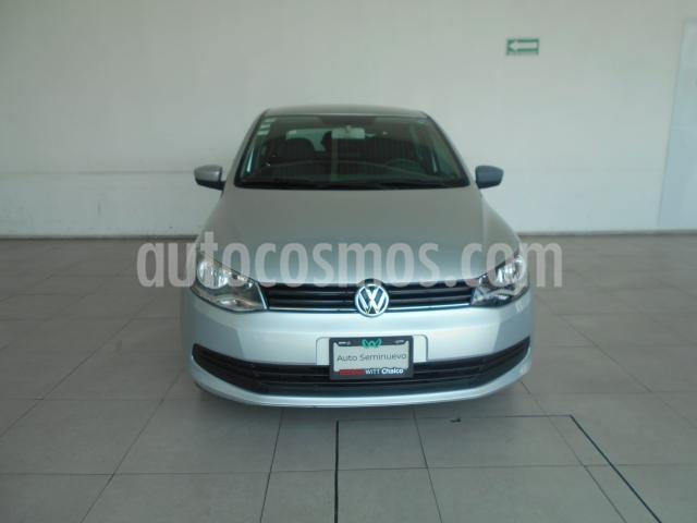 Volkswagen Gol 4P SEDAN CL I-MOTION L4/1.6 AUT usado (2016) color Gris precio $138,000