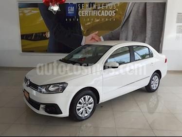 Volkswagen Gol 4p Sedan Trendline L4/1.6 Man usado (2017) color Blanco precio $151,900