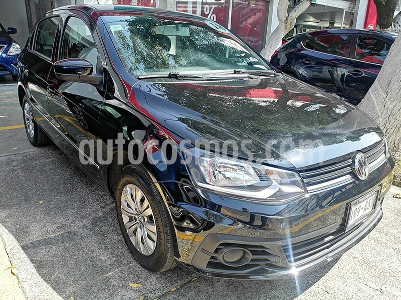 Volkswagen Gol Trendline I-Motion (2019.5 Edicion Aniv.) Aut usado (2018) color Negro precio $158,000