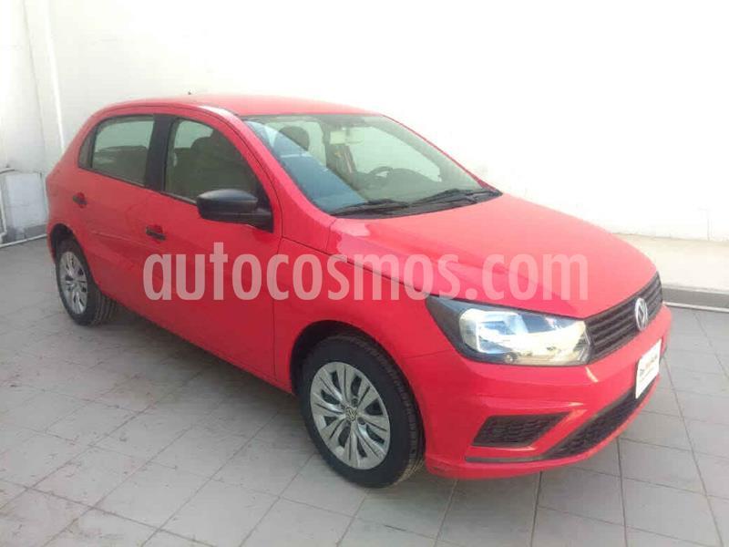 Volkswagen Gol Trendline usado (2019) color Rojo precio $189,000