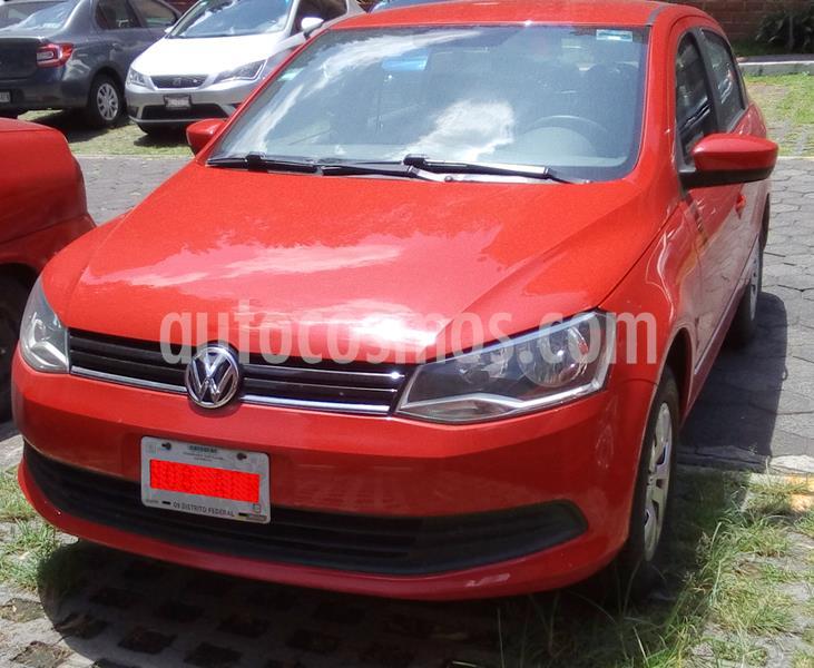 Volkswagen Gol CL usado (2016) color Rojo precio $118,000
