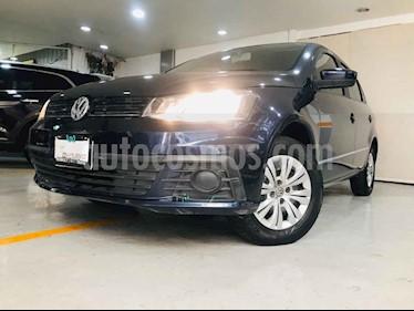 Volkswagen Gol 5p Trendline L4/1.6 Man usado (2017) color Azul precio $144,000