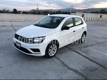 Volkswagen Gol Trendline usado (2019) color Blanco Candy precio $185,000