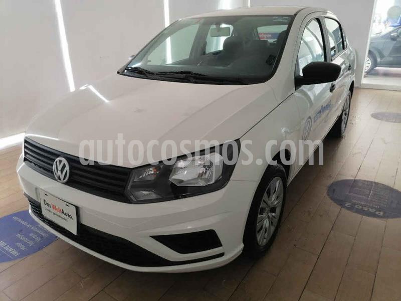 Volkswagen Gol Trendline usado (2020) color Blanco precio $195,500