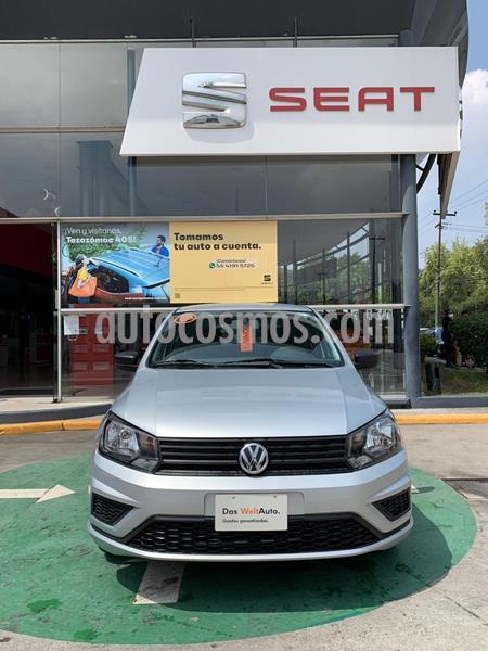 Volkswagen Gol Trendline Ac usado (2019) color Plata precio $181,990