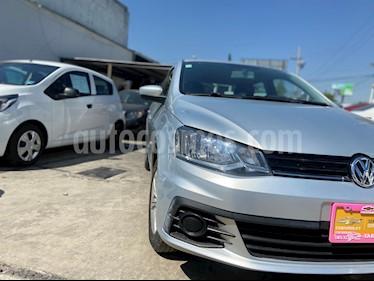 Volkswagen Gol Trendline usado (2018) color Plata precio $159,500