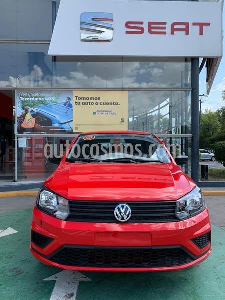 Volkswagen Gol Trendline Ac usado (2019) color Rojo Flash precio $181,990