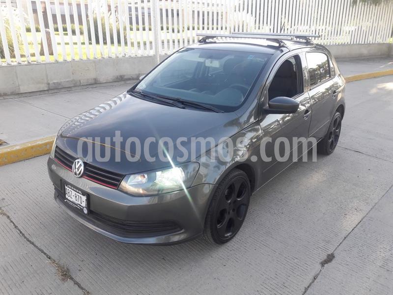Volkswagen Gol Trendline Ac Seguridad usado (2013) color Gris Vulcano precio $89,000