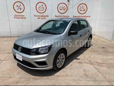 Volkswagen Gol 5p Trendline L4/1.6 Man usado (2019) color Plata precio $188,000
