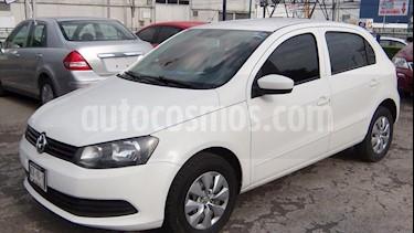 Volkswagen Gol 5 PTAS CL A/A usado (2014) color Blanco precio $105,000