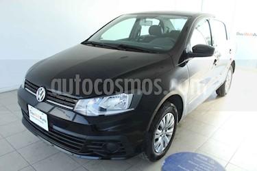 foto Volkswagen Gol 5p Trendline L4/1.6 Man usado (2018) color Negro precio $185,000