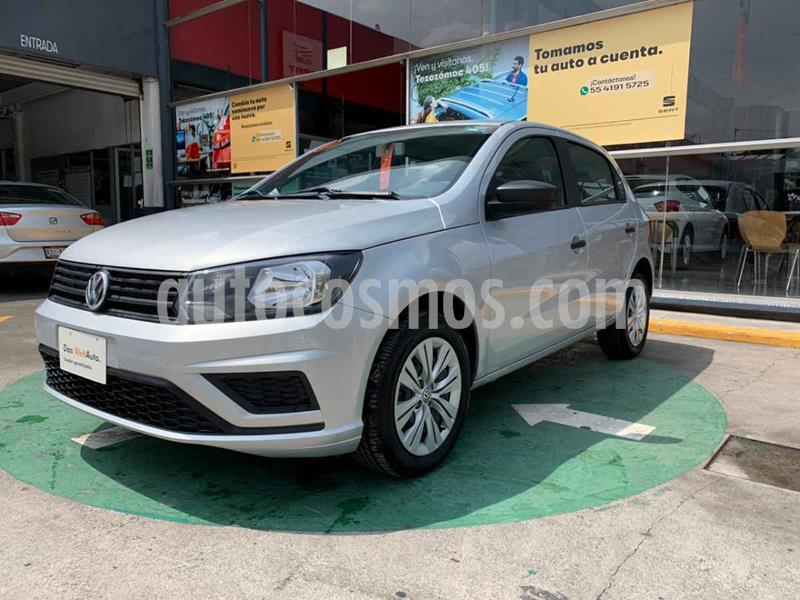 Volkswagen Gol Trendline usado (2019) color Plata precio $179,990