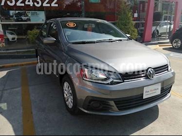 Volkswagen Gol 4p Sedan Trendline L4/1.6 Man usado (2018) color Gris precio $171,990