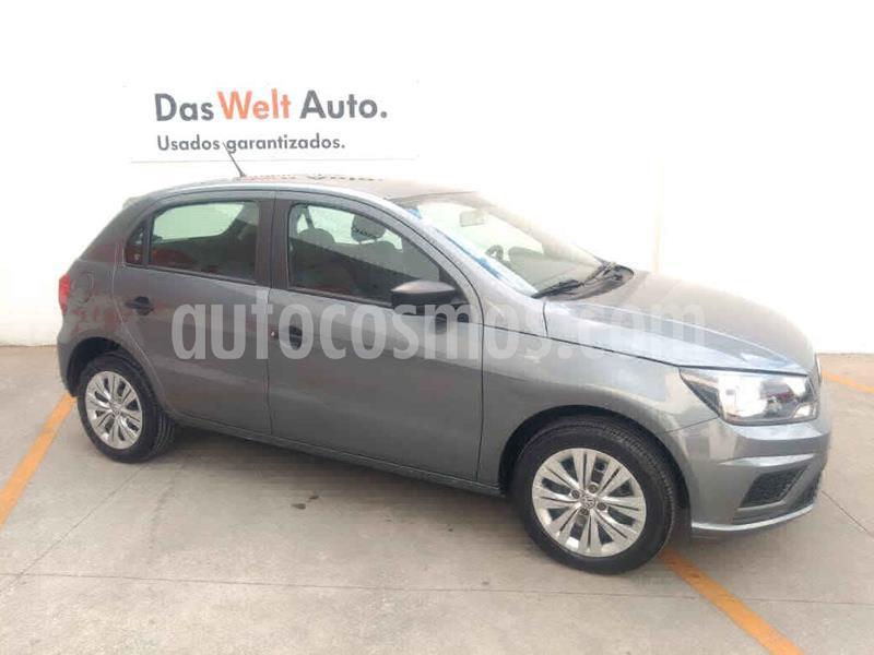 Volkswagen Gol Trendline usado (2019) color Gris precio $189,000