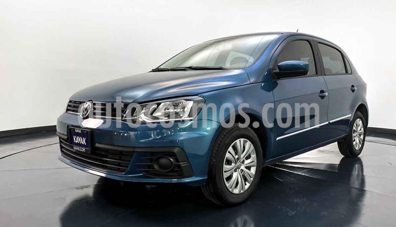 Volkswagen Gol Trendline I - Motion usado (2018) color Azul precio $192,999