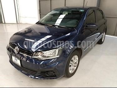 foto Volkswagen Gol 5P TRENDLINE L4/1.6 MAN usado (2017) color Azul Marino precio $145,000