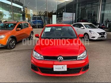 Volkswagen Gol 4P SEDAN TRENDLINE L4/1.6 MAN usado (2018) color Rojo precio $183,000