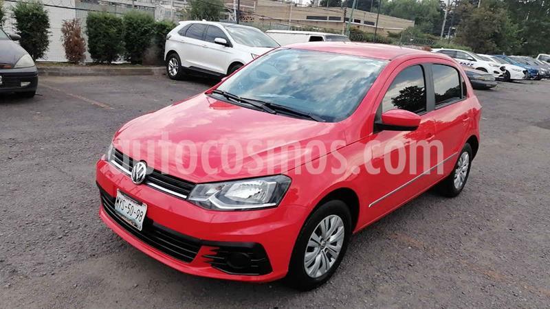 Volkswagen Gol Trendline I-Motion Aut usado (2017) color Rojo precio $142,000