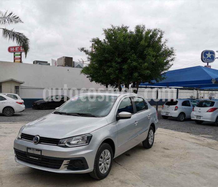 Volkswagen Gol Trendline usado (2018) color Plata precio $159,000