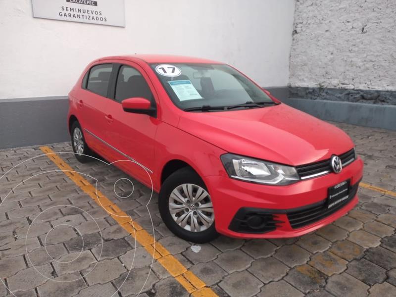 Foto Volkswagen Gol Trendline usado (2017) color Rojo Flash precio $159,900