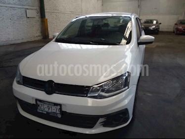 Volkswagen Gol 4p Sedan Trendline L4/1.6 Man usado (2018) color Blanco precio $175,000