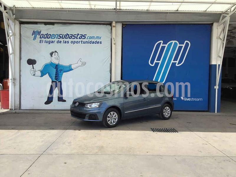 Volkswagen Gol Trendline usado (2018) color Azul precio $58,000