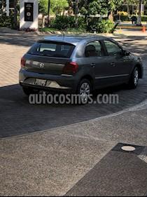 Volkswagen Gol Trendline usado (2017) color Gris Urano precio $142,000