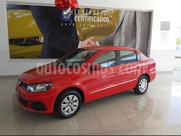 Volkswagen Gol 4P SEDAN TRENDLINE L4/1.6 MAN usado (2017) color Rojo precio $146,900