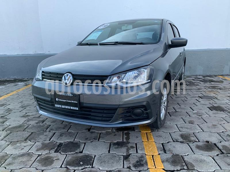 Volkswagen Gol Trendline Seguridad usado (2019) color Gris Urano precio $164,900