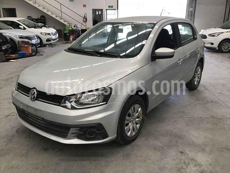 Volkswagen Gol Trendline usado (2017) color Plata precio $60,000