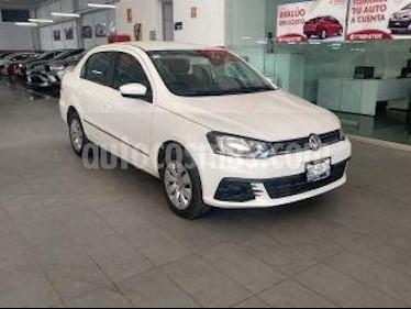 Volkswagen Gol 4P TRENDLINE AT A/AC. R-14 usado (2017) color Blanco precio $148,000