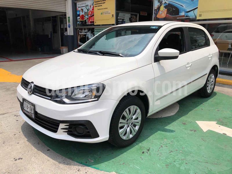 Volkswagen Gol Trendline usado (2018) color Blanco precio $132,000