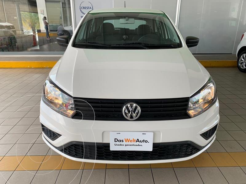 Volkswagen Gol Trendline usado (2020) color Blanco Candy precio $194,900