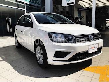 Volkswagen Gol 5p Trendline L4/1.6 Man usado (2019) color Blanco precio $170,000