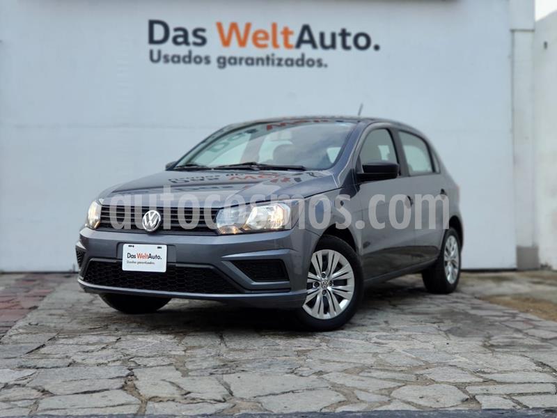 Volkswagen Gol Trendline usado (2019) color Gris Oscuro precio $180,000