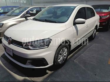 Volkswagen Gol 4p Sedan Trendline L4/1.6 Man usado (2018) color Blanco precio $165,000