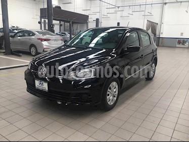 Volkswagen Gol 5p Trendline L4/1.6 Man usado (2017) color Negro precio $160,000