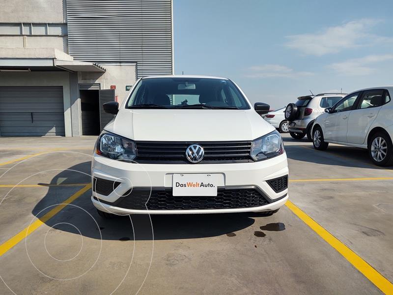 Volkswagen Gol Trendline usado (2020) color Blanco Candy precio $189,000