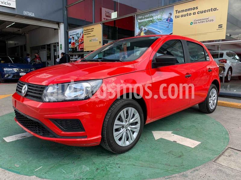 Volkswagen Gol Trendline usado (2019) color Rojo precio $185,990