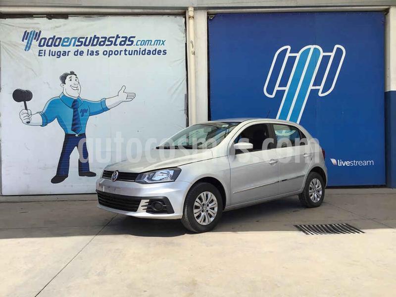 Volkswagen Gol Trendline usado (2018) color Plata precio $66,000