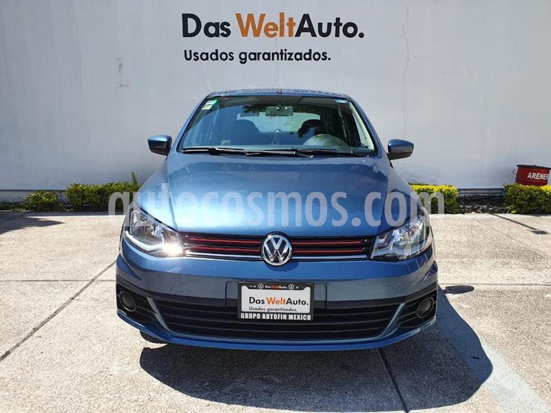 Volkswagen Gol Trendline usado (2018) color Azul precio $154,900